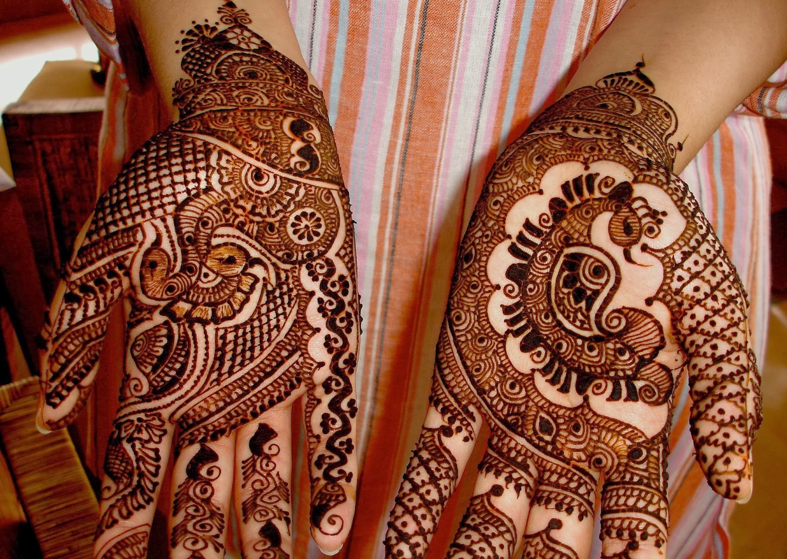 Mehndi For Kids Front : Beautiful latest simple arabic pakistani indian bridal