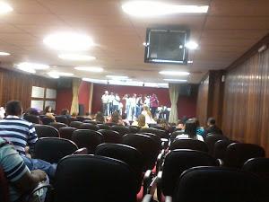 Apresentação dos alunos no IAT