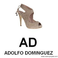 Queen Letizia Style  ADOLFO DOMİNGUEZ Sandals