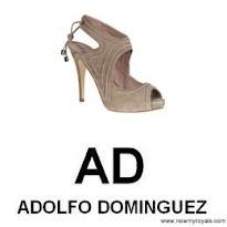 Queen Letizia Style  ADOLFO DOMİNGUEZ Sandals