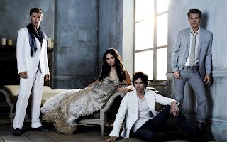 Vampire Diaries Characters Awesome HD Wallpaper