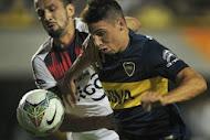 Boca le ganó a Cerro Porteño en la ida de la Copa Sudamericana