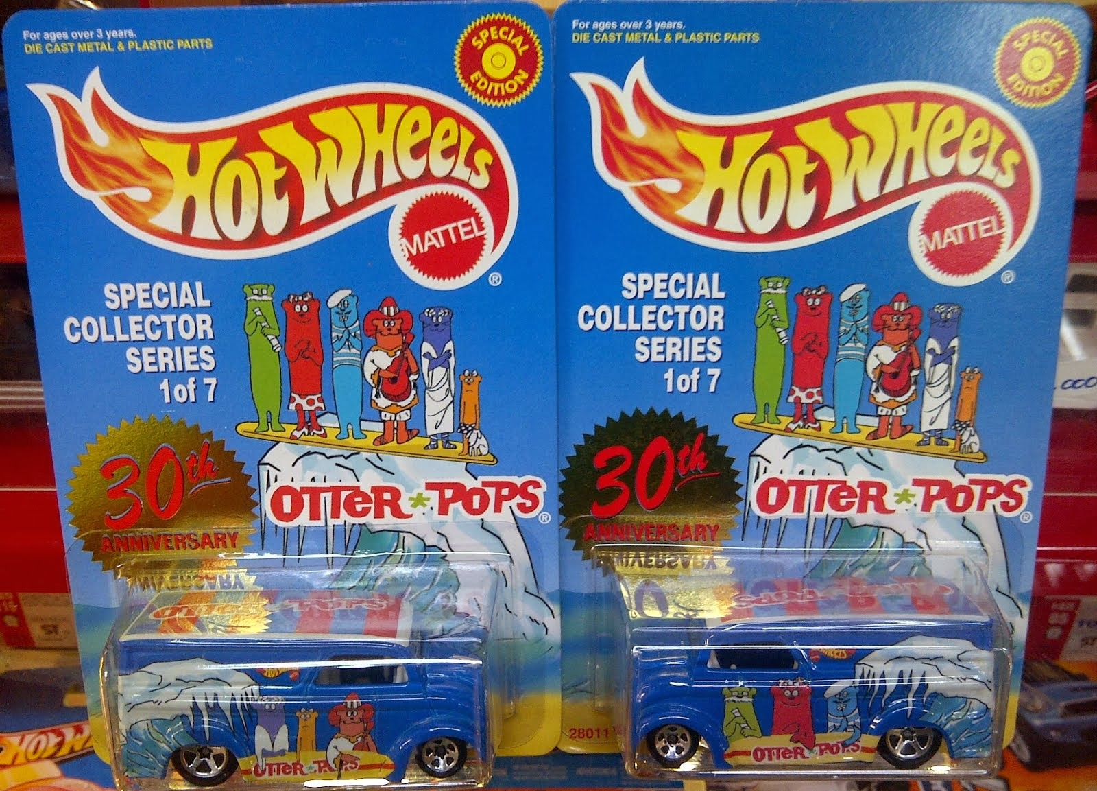 HW Dairy Delivery Otter Pops 30th Aniversarry (1999)