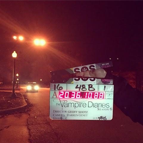 The Vampire Diaries -  temporada 6: Nuevos y reveladores BTS!