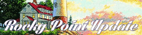 Dimensions Rocky Point Cross Stitch Update