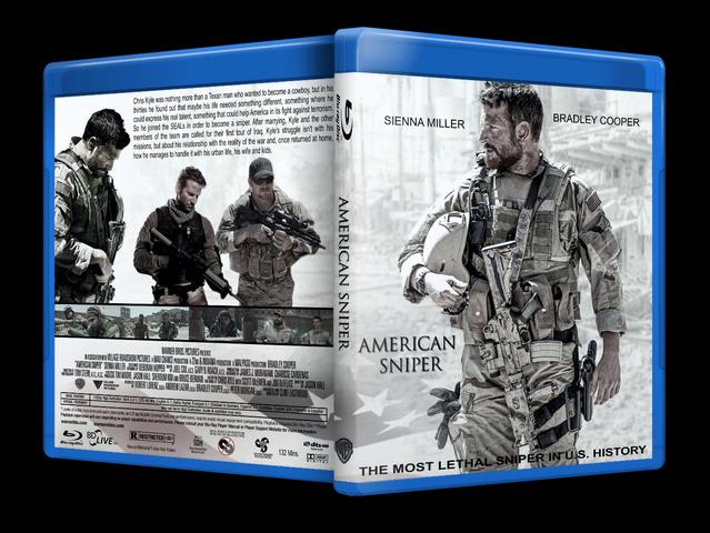 Capa Bluray American Sniper