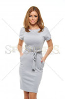 Rochie Top Secret Positive Vision Grey (Top Secret)