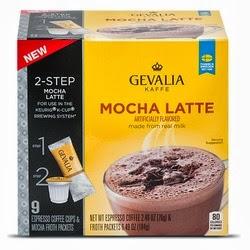 Gevalia Mocha Latte k-cups