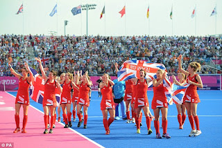 Team GB hockey London Olympics