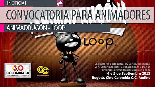Convocatoria para animadores. ANIMADRUGÓN – LOOP.