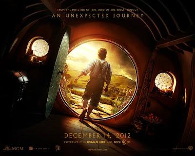 Póster El Hobbit. Un viaje inesperado the hobbit peter jackson tolkien
