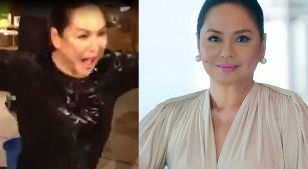 ABS-CBN President Charo Santos-Concio does the ice bucket challenge
