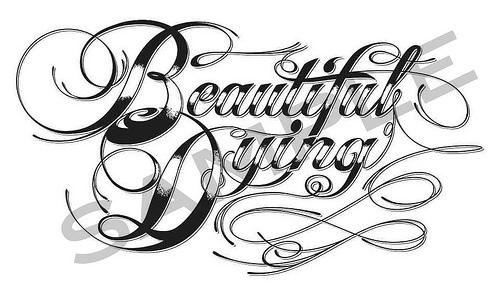 Tattoo Script Font Letters Old English Fonts