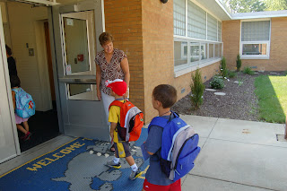 student achievement best practices greeting students at the door