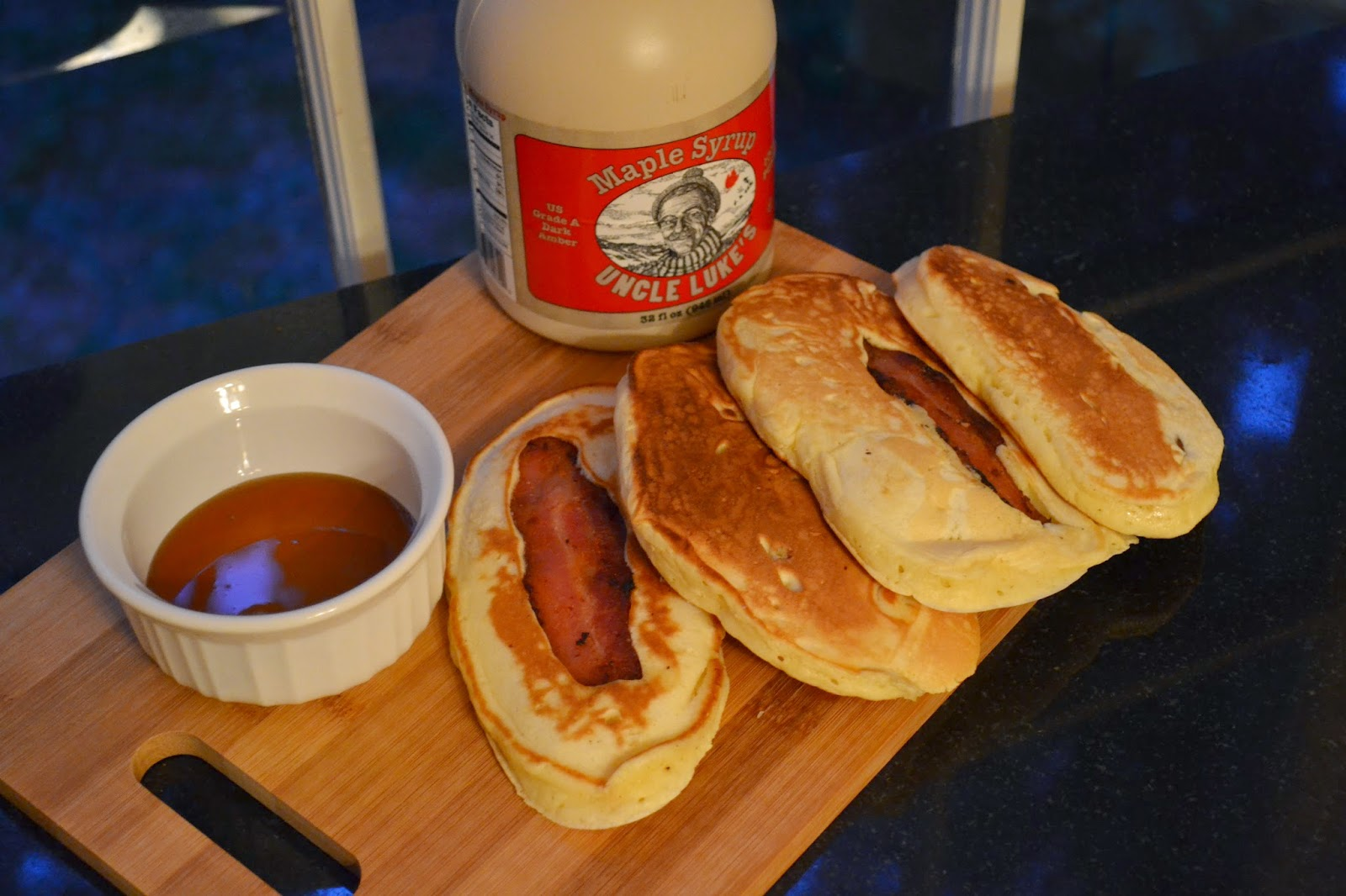 Brunchweek bacon pancake dippers this is another delightful delicious and easy brunch or breakfast recipe to share with your family and friends if you like pancakes and bacon ccuart Gallery