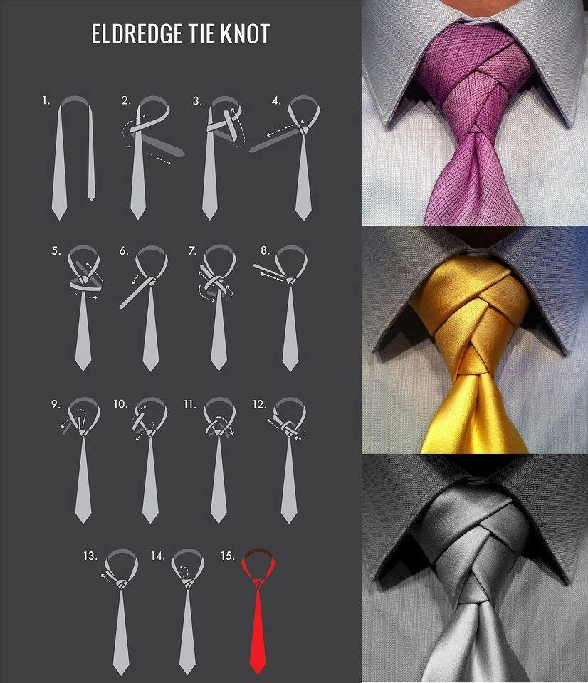 Tying Tie Knots: Doxiepin Dog Likes The Eldredge Tie Knot