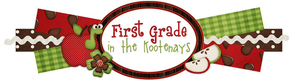 First Grade in the Kootenays