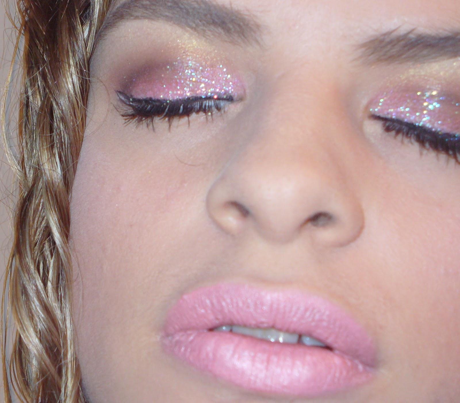 how to make glitter primer