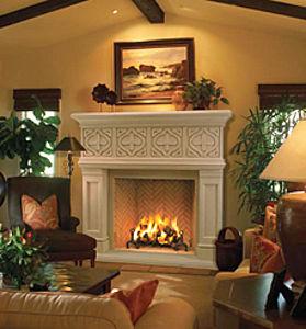 Chimeneas de piedra en casa ideas para decorar dise ar - La casa de la chimenea ...