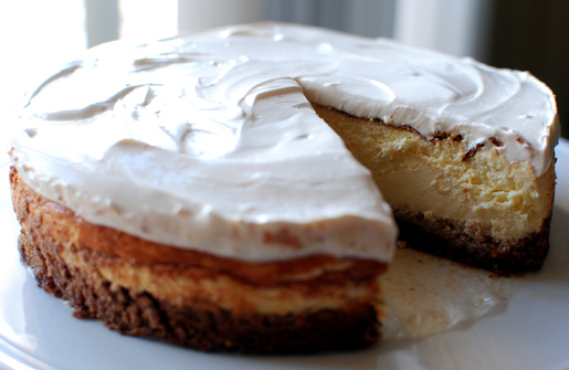 Sour Cream Cheesecake Sour cream cheesecake