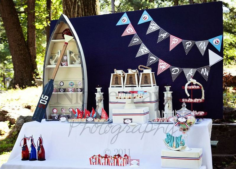 Nautical Toddler Birthday Party Ideas Page 8 Of