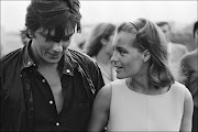 Alain Delon and Romy Schneider, Nice, August 1968