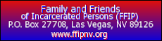 Family and Friends of Incarcerated Persons (FFIP)