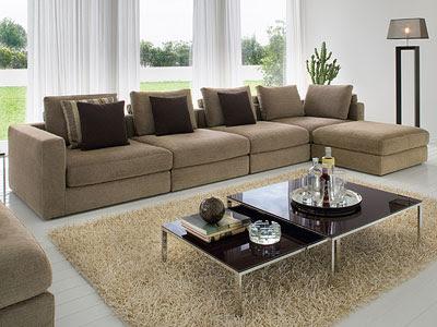 Salas modernas con muebles elegantes ideas para decorar for Salas en l modernas