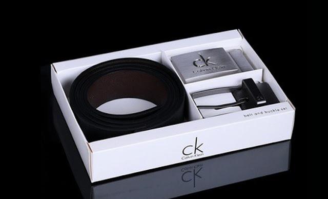 父親節禮物,最佳首選:【CALVIN KLEIN】經典真皮皮帶組 手錶 蛋糕