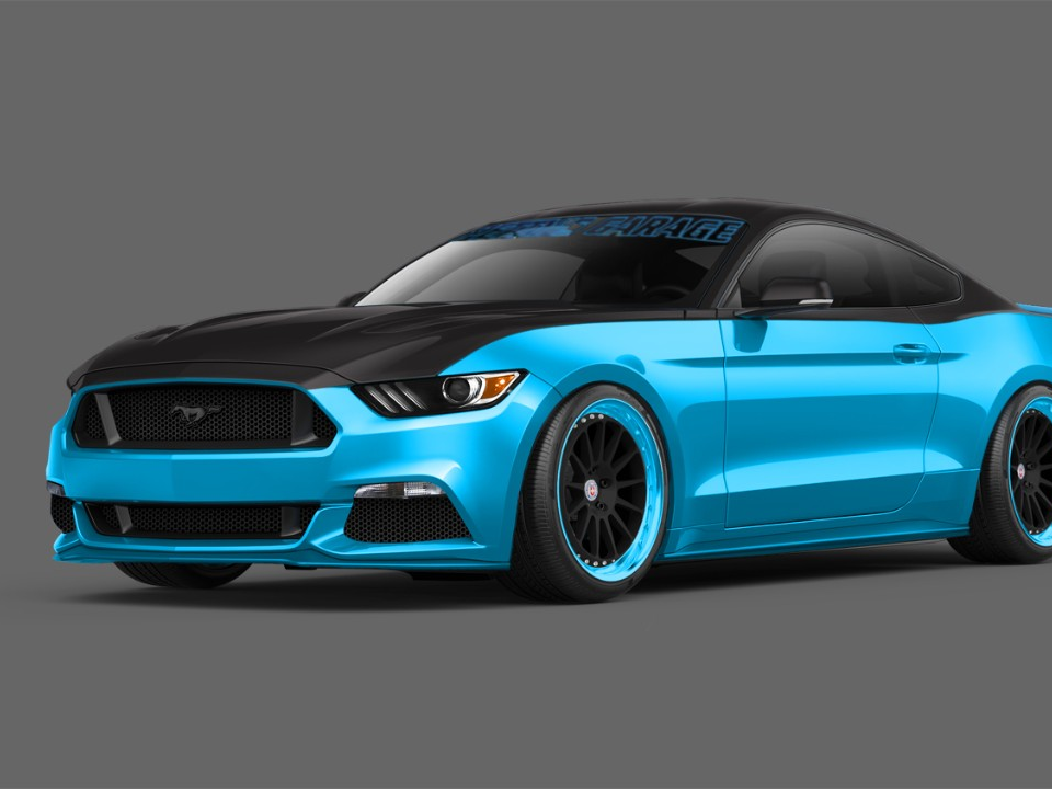 Ford & Petty's Garage Build Limited-Edition Mustang GT