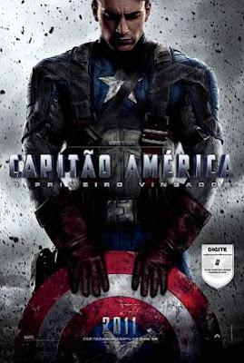 Filme Poster Capitão América - O Primeiro Vingador TS XviD & RMVB Dublado