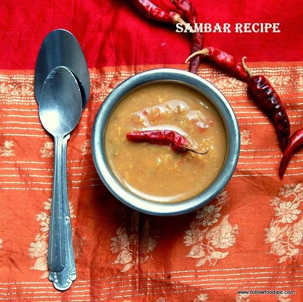 PasiParuppu Sambar , Moong Dal Sambar Recipe