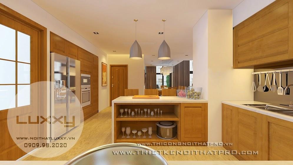 Thiết kế nội thất căn biệt thự hiện đại