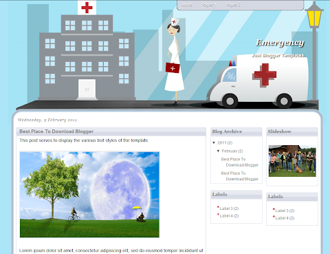 Emergency Blogger Theme