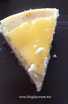 Kek's Bakery Tadıtam Limonlu Cheesecake 6
