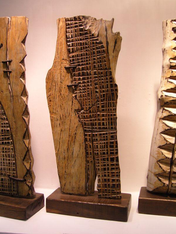 Wood Sculptures By George Peterson Ok