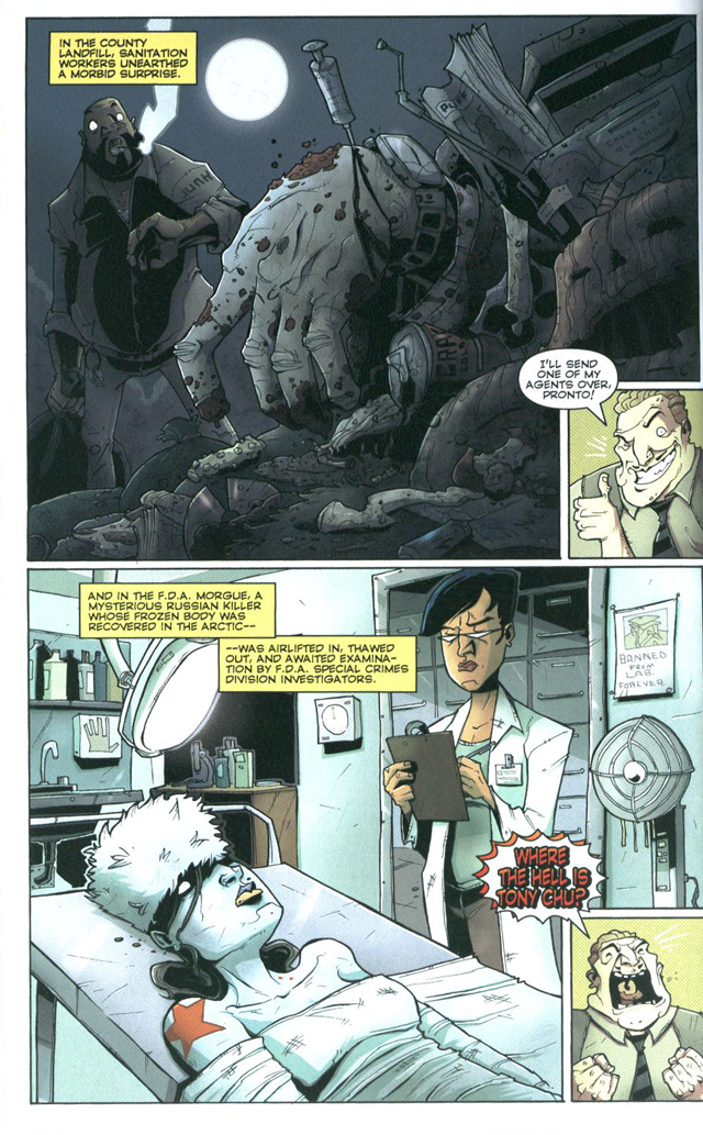 Chew #9 by John Layman and Rob Guillory