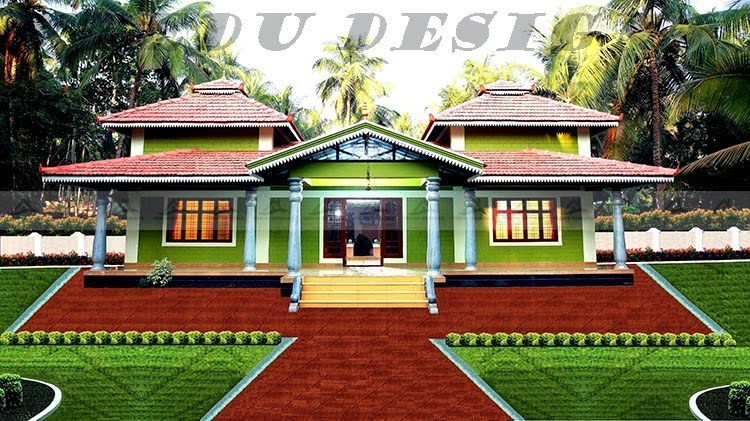 Style nalukettu for Low cost kerala veedu plans