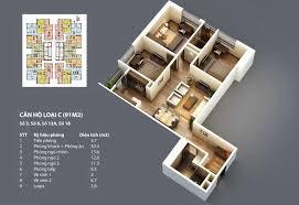 căn hộ 91m2