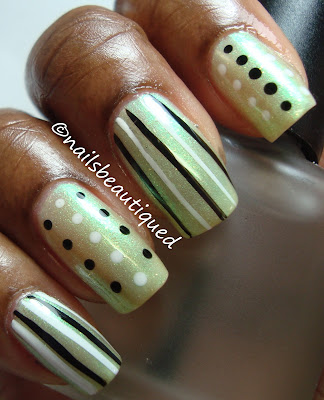 Sticks and Stones Nail Art