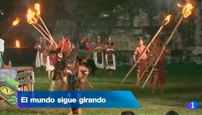 """""""El mundo sigue girando"""". Telediario TVE."""