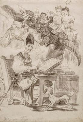Visiones de Don Quijote. Francisco de Goya