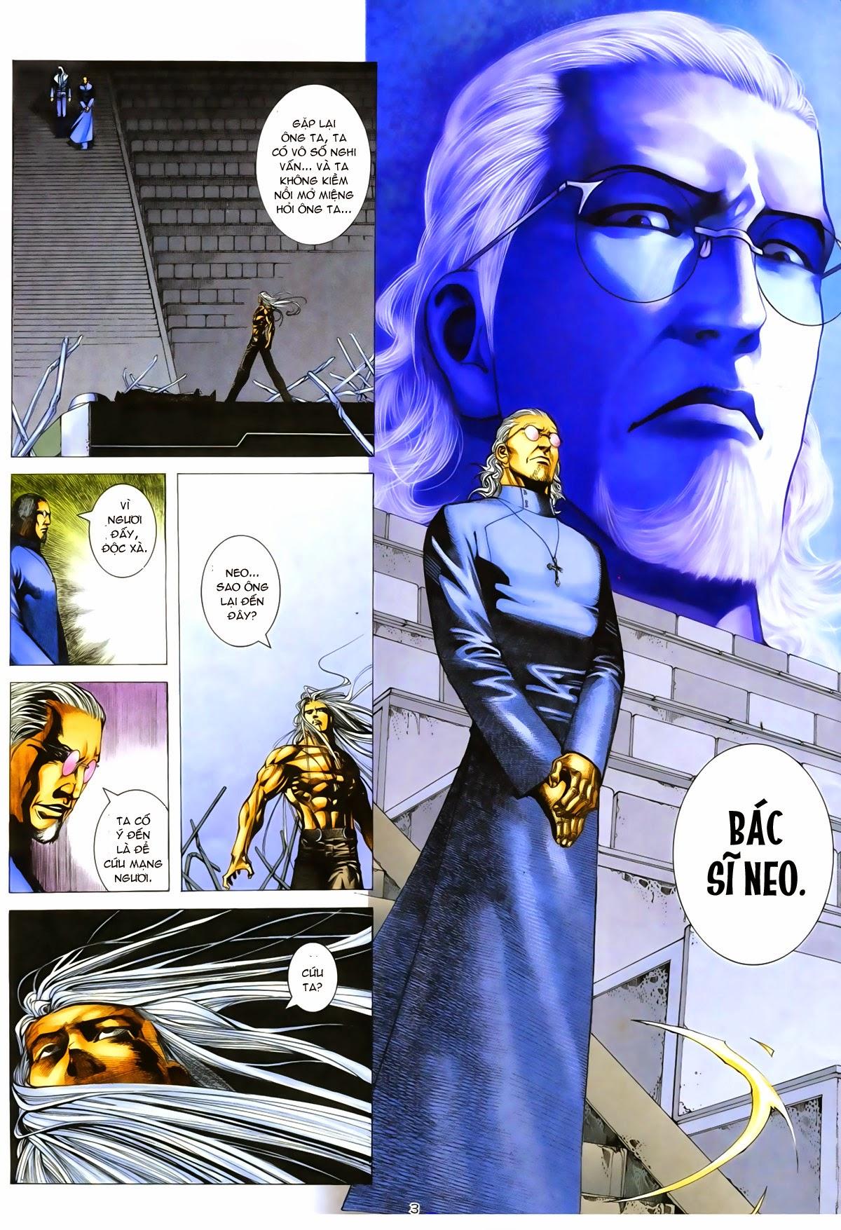 Tuyệt Địa Thiên Hành chap 8 Trang 3 - Mangak.info