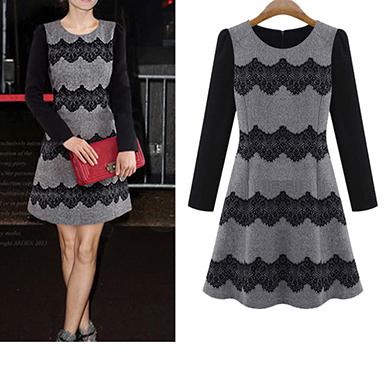 mini vestido de mujer