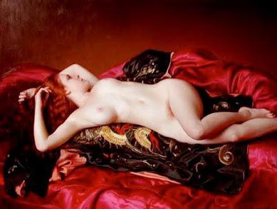 Cuadros Con Mujeres Delgadas Caderonas Desnudas