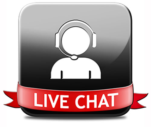 Live Chat with us