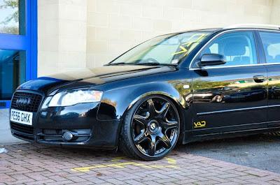 A4 Avant + Rodas Bentley