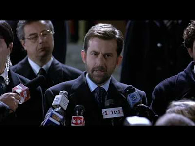 "Nanni Moretti portrays Silvio Berlusconi in the film ""The Caiman"""