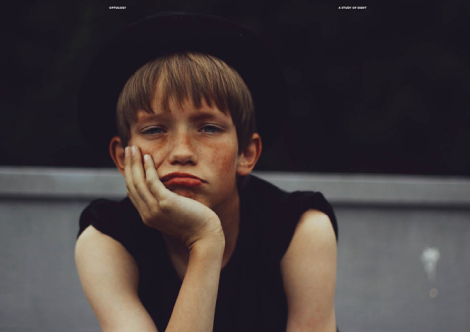 'Boys Don't Cry' Optology Magazine Issue 2 Cover