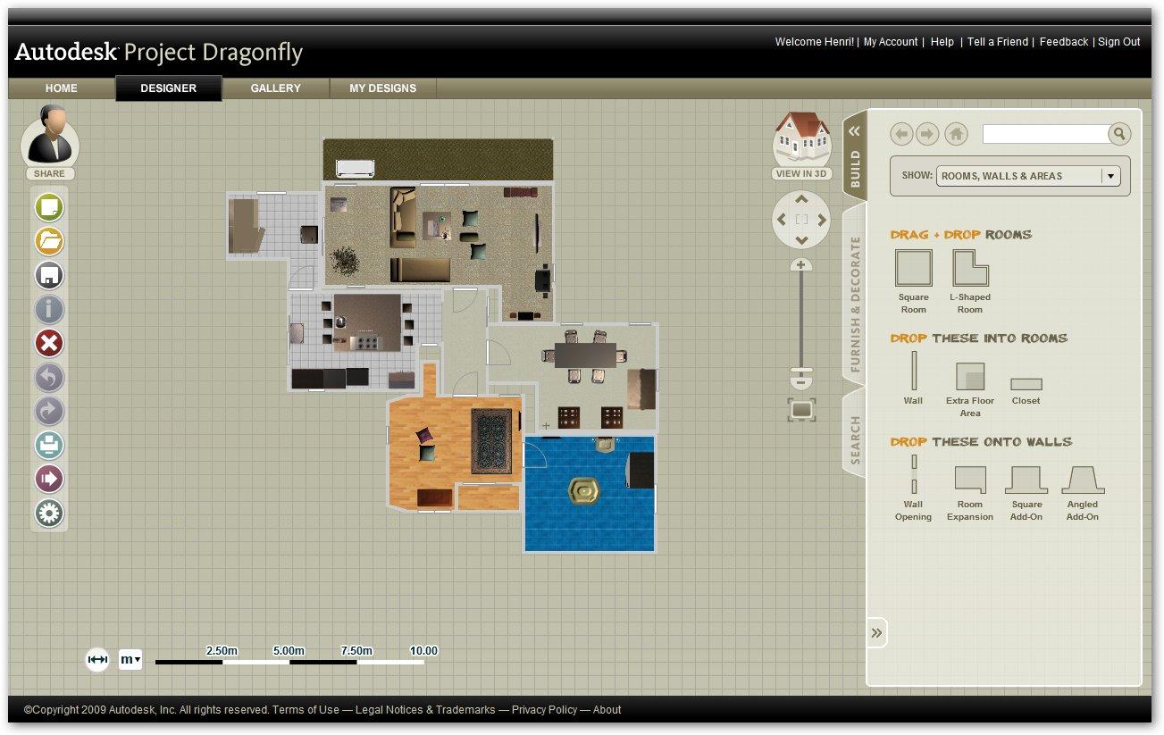 Autodesk Homestyler Aplicaciones Web Descargar